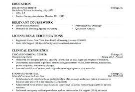 Registered Nurse Student Resume Entry Level Registered Nurse Resume