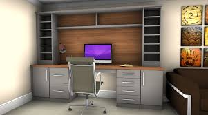 Made to Measure Fitted Home Office Furniture Built in Storage
