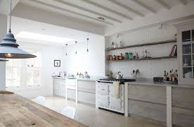 kitchen view in gallery rustic touches coupled with scandinavian style inside this london home design blakes london