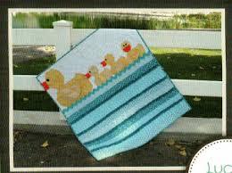 Lucky Ducks Baby Quilt Pattern by Cute Quilt Patterns &  Adamdwight.com