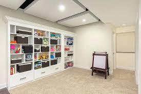 basement built ins finished