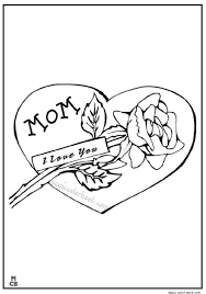 Small Picture i love my mom day coloring pages Magic Color Book