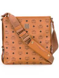 Designer Mcm Meaning Mcm Logo Print Shoulder Bag Men Bags Mcm Belt Meaning Mcm