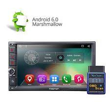 android double din vehicle electronics gps us obd ii double din 7