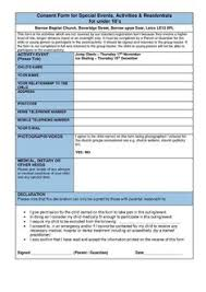 templates child travel consent form templates hunter