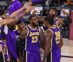 The los angeles lakers are one of the most elite teams in all of basketball. Los Angeles Lakers Ziehen In Die Nba Finals Ein Basketball Derstandard De Sport