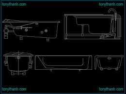 bath cad bathroom design. free bathtub cad block elevation view, side top view dwg autocad bath bathroom design d