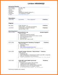 7 Good Cv Template For Students Quick Askips Resume Templates