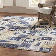 ocean panel multi 5 ft x 8 ft indoor area rug