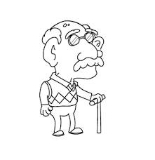 Small Picture old man Coloring Pages Old man Old People Pinterest Clip