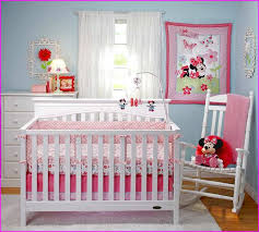 minnie mouse bed set for crib