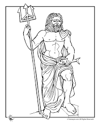 Greek Mythology Worksheets & Coloring Pages - Woo! Jr. Kids Activities
