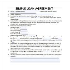 Loan Contract Template Word