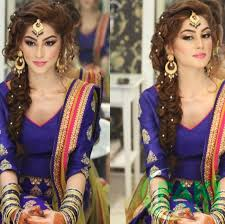 best stani bridal hairstyles wedding funda bridal hairstyle pics for mehndi hairstyles