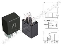 new tyco ford lincoln mercury pin micro relay fb b aaft tyco ford lincoln mercury 5 pin micro relay f57b 14b192 aaf5t2 14n089