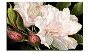 fabulous contemporary flower painting wall art canvas print 30x20 inch 52x77 cm on flower wall art prints with fabulous contemporary flower painting wall art canvas print 30x20