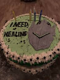 This Overwatch Cake My Mom Made Me For My 16th Birthday Needless To