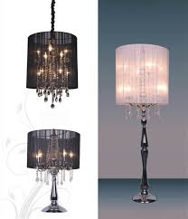 chandelier table lamps crystals roselawnlutheran