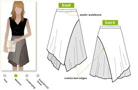Wrap Skirt Pattern Impressive The Versatile Wrap Skirt Pattern Style Arc