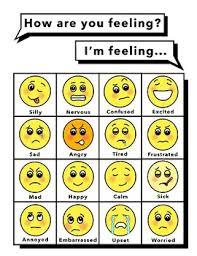 Feelings Chart Large Feelings Chart