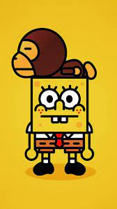 cartoon wallpaper iphone,cartoon,yellow ...