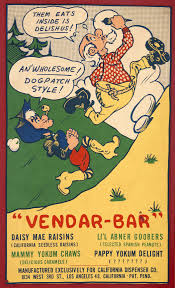 Gene The Vending Machine Beauteous Hake's LI'L ABNER VENDARBAR VENDING MACHINE