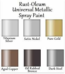 Image Result For Metallic Spray Paint Colors Things To Buy
