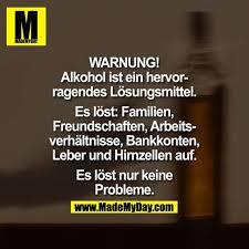 Warnung Alkohol Ist Ein Made My Day