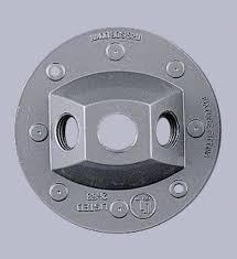 outdoor flood light socket holder box plate for mounting 1 or 2 v0070