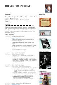 Web Designer Resume Gorgeous GraphicWeb Designer Resume Samples VisualCV Resume Samples Database