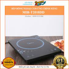 Chính hãng] Bếp hồng ngoại đơn , bếp hồng ngoại cảm ứng đa năng , bếp điện  hồng ngoại MIDEA MIR-T2018DD 2000W cao cấp