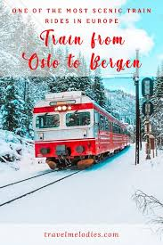 the train from oslo to bergen scenic