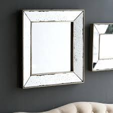 traditional square glass wall mirror mirrors decorative lark manor