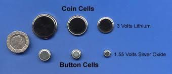 Button Cell Battery Comparison Chart Cell Mechanical Construction
