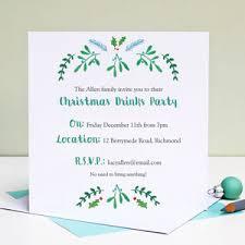 Christmas Invitation Ideas Christmas Party Invitations Notonthehighstreet Com