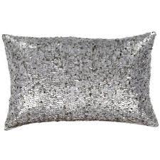 Fascinating moroccan pillows ideas for your bedroom Bedding Burton Sequin Lumbar Pillow Wayfair Silver Sequin Pillow Wayfair