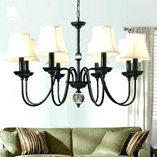 chandelier with black shade chandelier with black shade crystal chandelier with black drum shade crystal chandelier