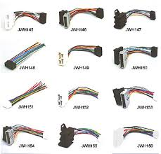 cable harness wire harness wire harness model make a jwh145 honda acurs 1985 or later sony b jwh146 chrysler dodge plymouth