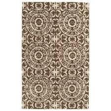 kaleen evolution brown 3 ft x 5 ft area rug