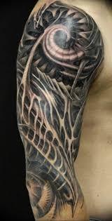 фото тату рукав биомеханика 06042019 013 Tattoo Biomechaniс