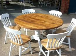 painted round dining table and chairs round kitchen table sets shabby chic round dining table and