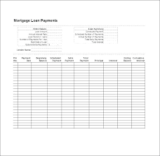 Excel Loan Payment Template