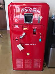 Coca Cola Vending Machine Models New MidCentury Circa 48 Coca Cola Vending Machine Model VMC48 Small