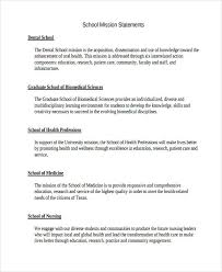 Mission Statement Example 51 Mission Statement Examples Samples Pdf Word Pages Examples