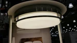 costco modern styled led flush mount light fixture 20 24