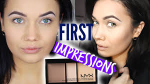 new nyx cosmetics highlight contour