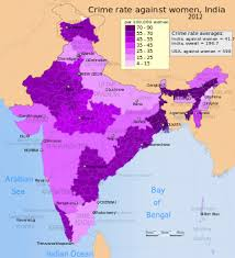 gender inequality in  average annual crime rates per 100 000 women in by its states and union territories crime rate in this map includes all n penal code crimes such