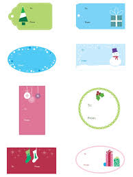 Gift Tag Template Free Free Christmas Templates Printable Gift Tags Cards Crafts
