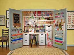 turn closet home office. Jaylaurs Sewing Studios Closet Turned Into A Craft Room Turn Home Office
