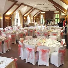 chair covers. coral chair sashes covers